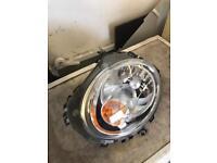 Mini headlight n/s passenger