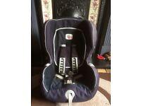 Britax ISO fix car seat 12+months- 4yrs