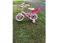 12inch girls cupcake bike