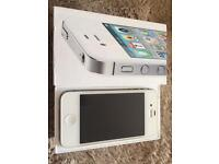 iPhone 4s 32 GB white unlocked, boxed