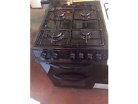 bush free standing gas cooker , gas oven & grill , white colour , 50 cm wide , for sale