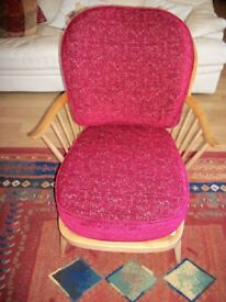Ercol 501E Windsor Double Bowed Bergere Chair