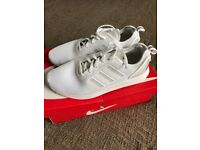 Adidas White Canvas size 10 £25