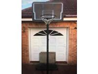 Full size basketball stand & net