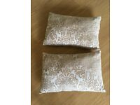Homebase cushions x2 large