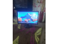 """for sale asus 22 """"led widescreen computer monitor £20"""