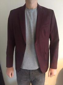 Zara blazer size 54, RED