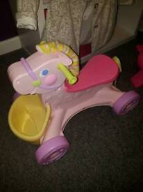 Girls ride-on toys