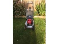 Honda hr194 self drive mower for sale