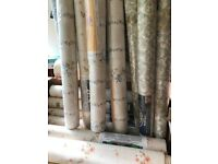 Large Quantity of new odd assortment wallpaper only 75p each