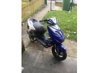 Yamaha aerox 70cc reg as a 50cc