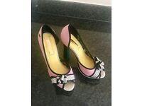 BABYCHAM pink high heels shoes