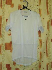Mens Moozes Kameleon Short Sleeved Base T-Shirt White (Size Large)