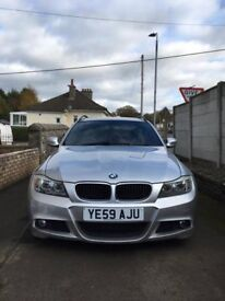 BMW 3 Series 318D M sport Touring 5 Door - Low Milage for age, good condition