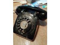 Black ex-GPO Telephone