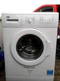 Beko WMC126W White Freestanding 6kg 1200 Spin A+ Washing Machine.delivery possible