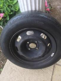 Wheel for a Peugeot 207