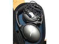 Bose Qc25 noise cancelling headphones
