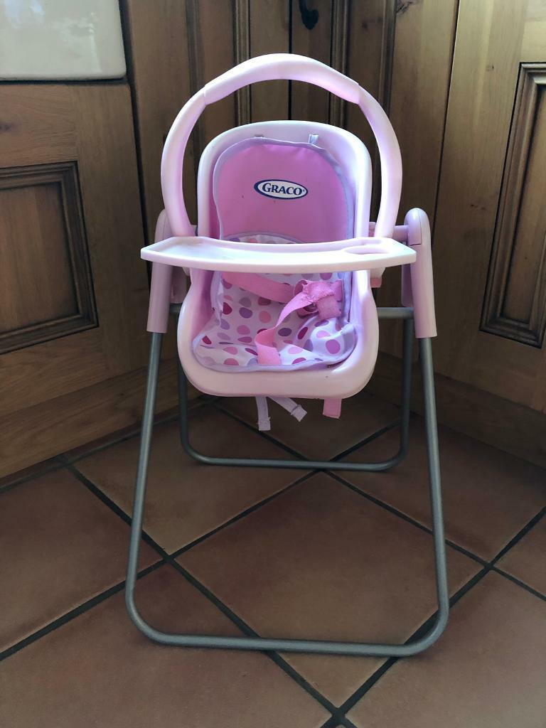 Graco High Chair Car Seat For Doll