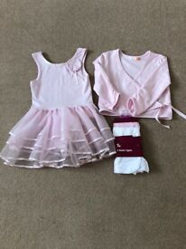 John Lewis Girls Ballet Clothes Size 4
