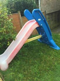Large little tikes folding slide