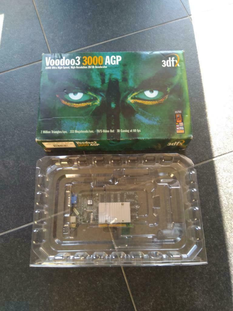 3Dfx Voodoo3 3000 AGP Boxed 3dfx voodoo