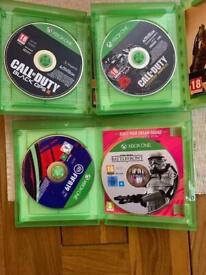 4 Xbox 1 games