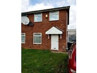 Three bed semi detached house to let on Siskin Drive edbgbaston with garage