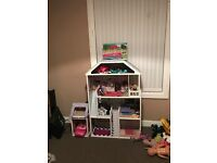 Barbie sized dolls house