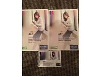AAT level 4 Kaplan books financial statements of limited companies