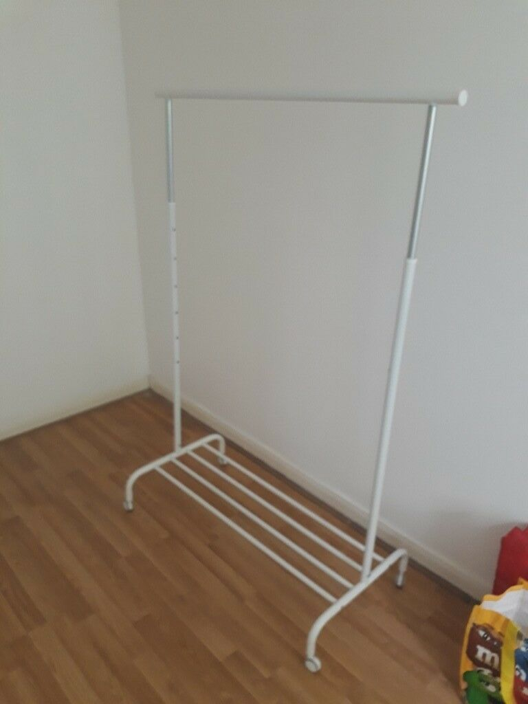 Ikea Clothes Rack With Wheels
