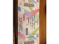 Country to country 2 tickets sun 11th match 3 arena Dublin 140 for the 2 face value