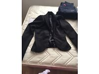 Jane Norman silk black jacket