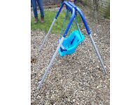Baby and Toddler garden swing