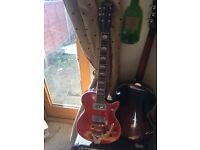 Gretsch electromatic pro jet electric guitar with tv jones powertron and powertron plus pickups