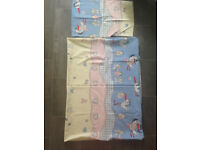 Baby girl bedding/cot bed and blankets