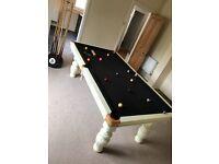 Poole table slate bed