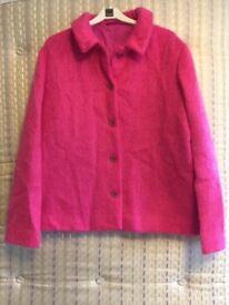 Bright pink Boden Jacket