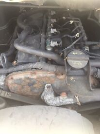 09 ford transit rwd engine and gearbox