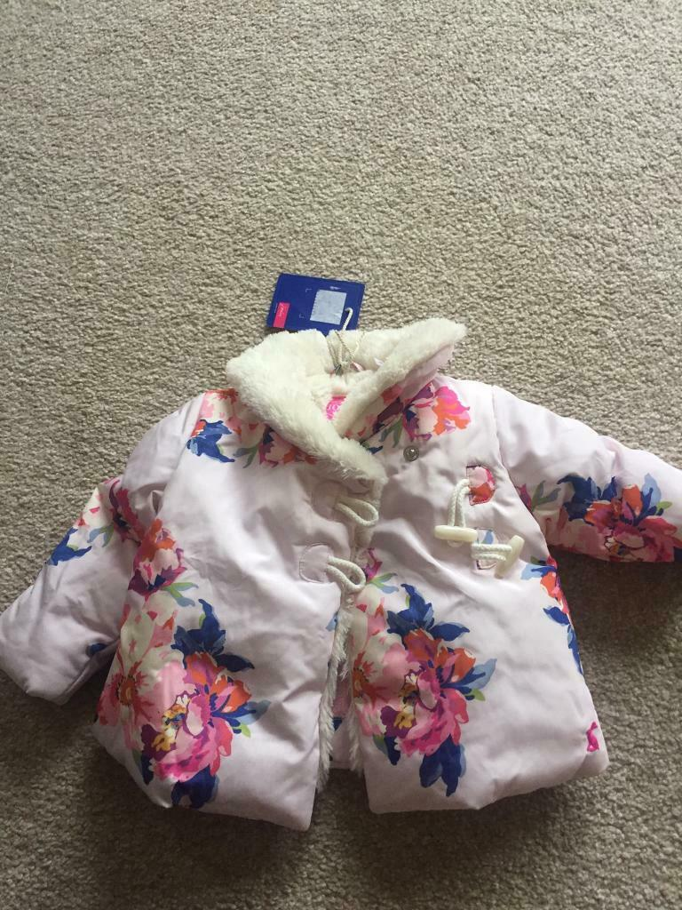 d1bd6584e Baby girls joules coat 3-6 months. | in Templepatrick, County Antrim |  Gumtree