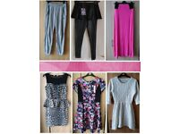 Womens Clothes - Dresses, Leggings, Skirt, Tracksuit Bottoms Size 10 Boohoo, New Look etc.