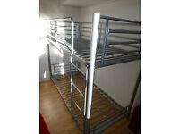 Childrens Metal Bunk Beds, exellent condition
