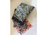 4 x floral print dresses size 10/12