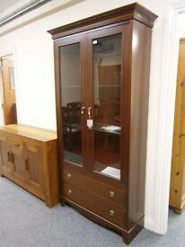 Beautiful gplan ***new*** display cabinet