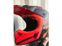Fox v3 motocross helmet