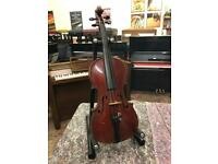 Old child's violin - 7/8 size. Can be posted