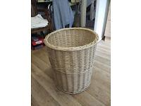Rattan Laundry Basket - or large wastepaper basket