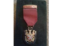 Nottinghamshire Masonic Masons Stewards Badge