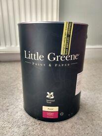 Little Greene Exterior Paint (5L) 'Pearl Colour'