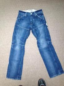 Original G Star jeans Stone wash denim